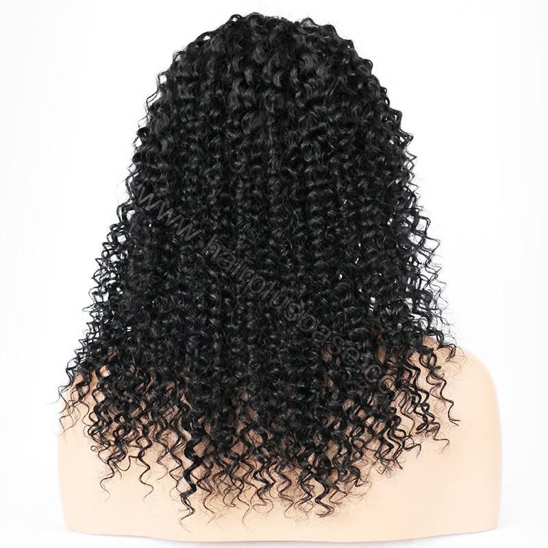 Lace Front Wigs Malaysian Virgin Human Hair Loose Curly 6