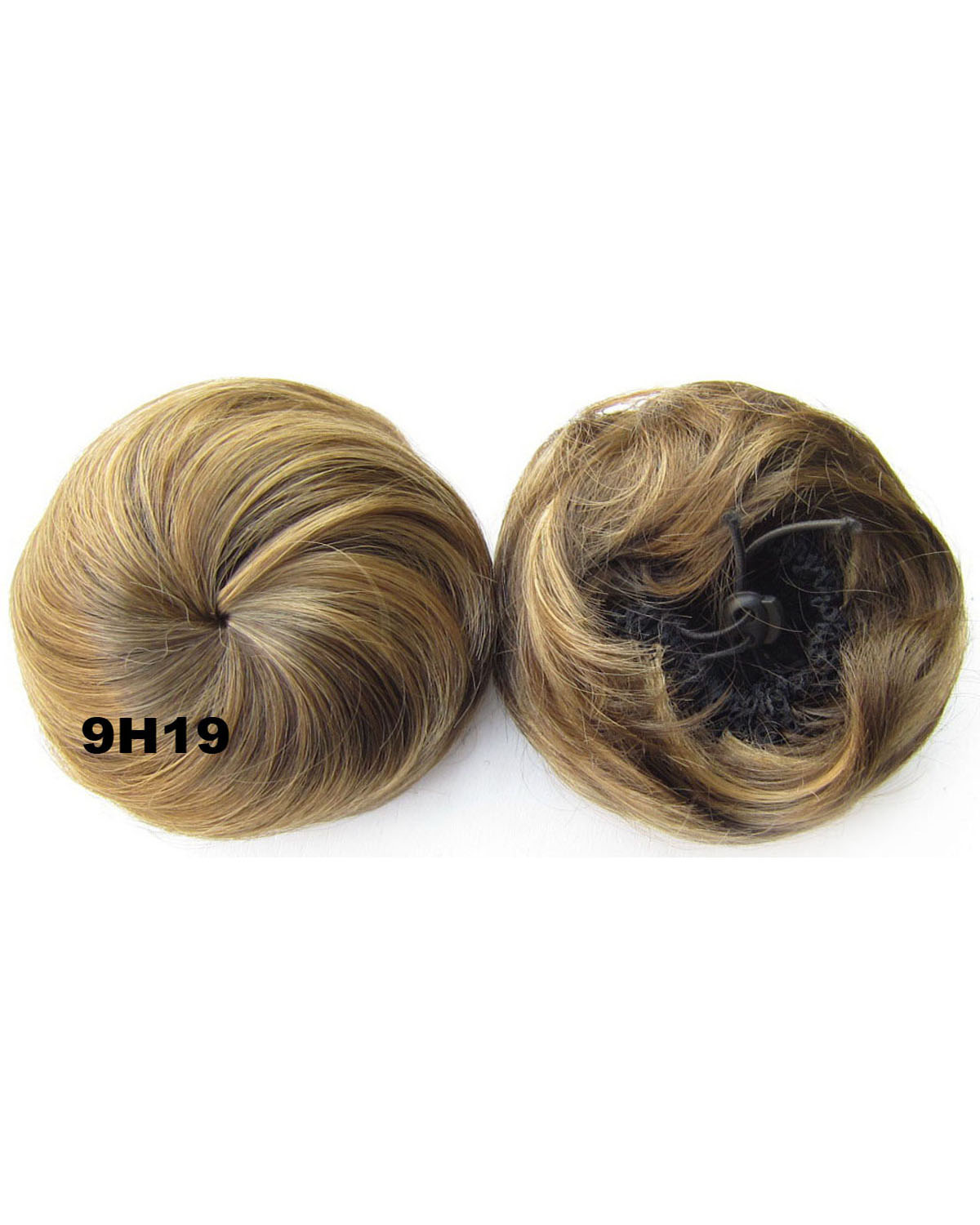 Ladies  Clean and Fashioanble Curly and Short Hair Buns Drawstring Synthetic Hair Extension Bride Scrunchies  9H19