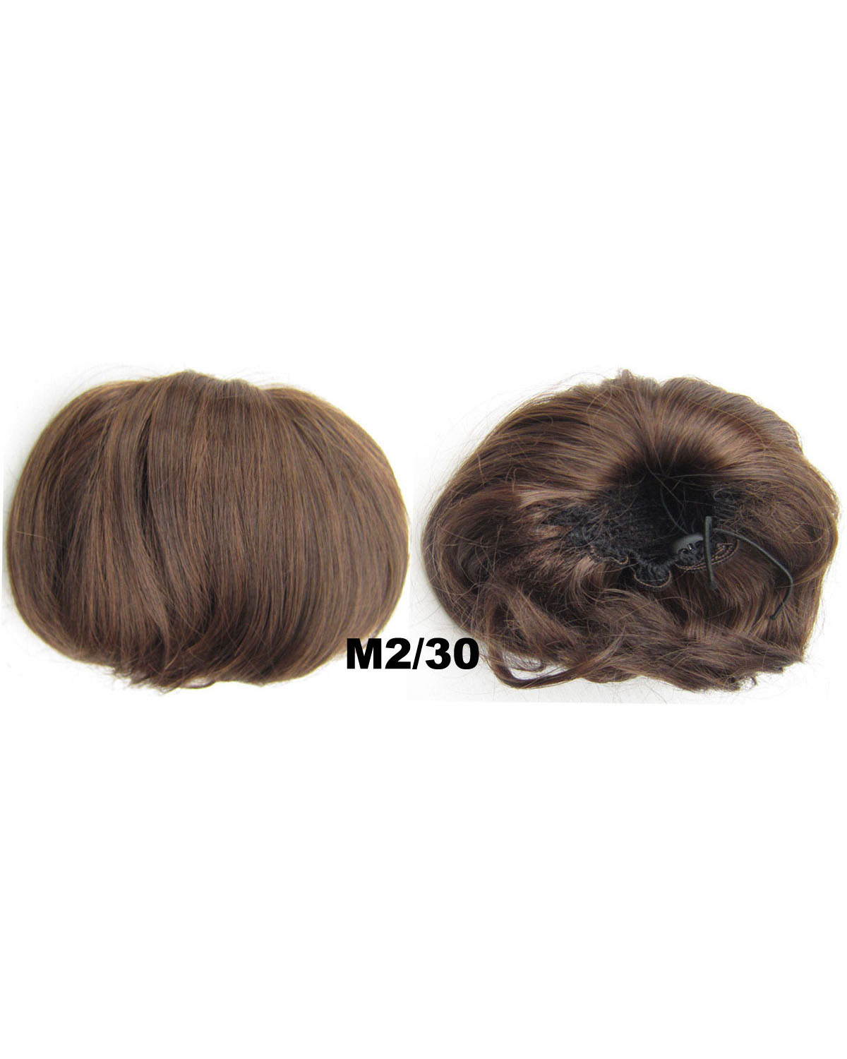 Ladies Wonderful Straight Short Hair Buns Drawstring Synthetic Hair Extension Bride Scrunchies M2/30