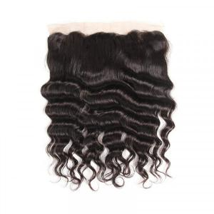 Loose Deep Wave 13*4 Lace Frontal Human Hair Cheap Virgin Hair