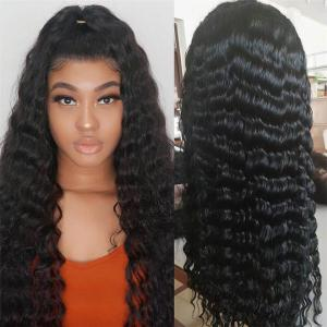 Loose Deep Wave 5*5 Lace Closure Wigs 8-40 Inch 180% Density Transparent Lace Available