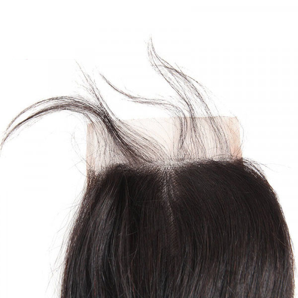 Loose Deep Wave Brazilian Hair 4 Bundles with 4×4 Lace Closures 6