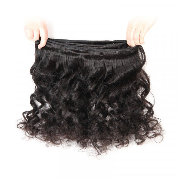 Loose Wave Weave 1 Bundle Deals 8-32 Inches Wet n Wavy Hair 5