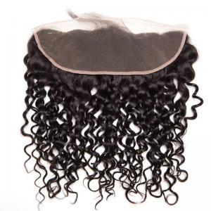Malaysian Curly Hair 13*4 Hair Frontal Virgin Hair Closures Curly Human Hair