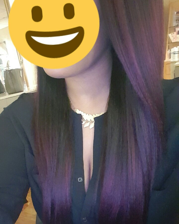 I have dyed it .it is beautiful