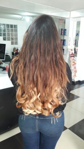 24 Inch Harmonious Ombre Clip In Remy Human Hair Extensions Three Tone Body Wave 9pcs 02