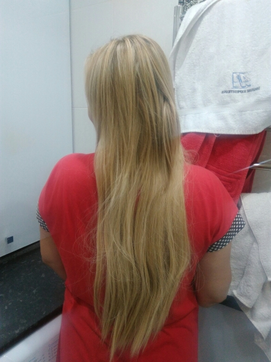 14 - 32 Inch Straight Secret Human Hair Extensions #27/613 Strawberry White Blonde 05