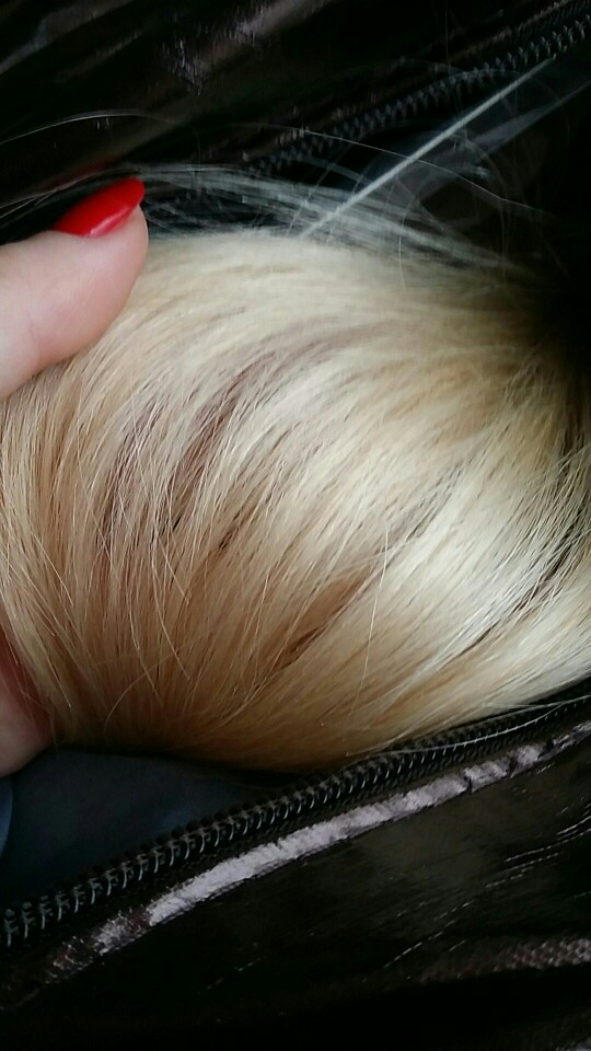 16 Inch #613 Bleach Blonde Tape In Human Hair Extensions 20pcs 03