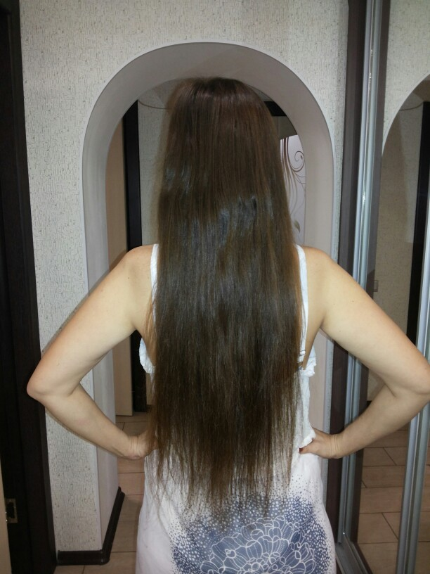 26 Inch #4 Medium Brown Micro Loop Human Hair Extensions 100S 02