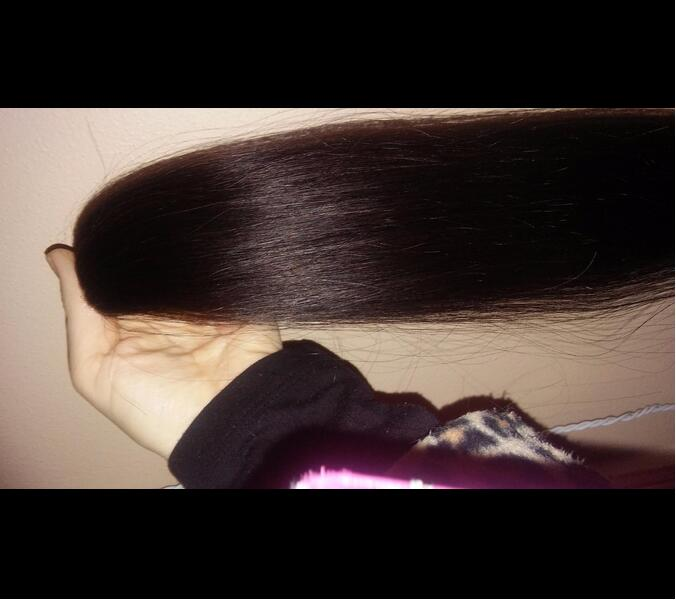 #1B Natural Black I Tip Straight Real Human Hair Extensions