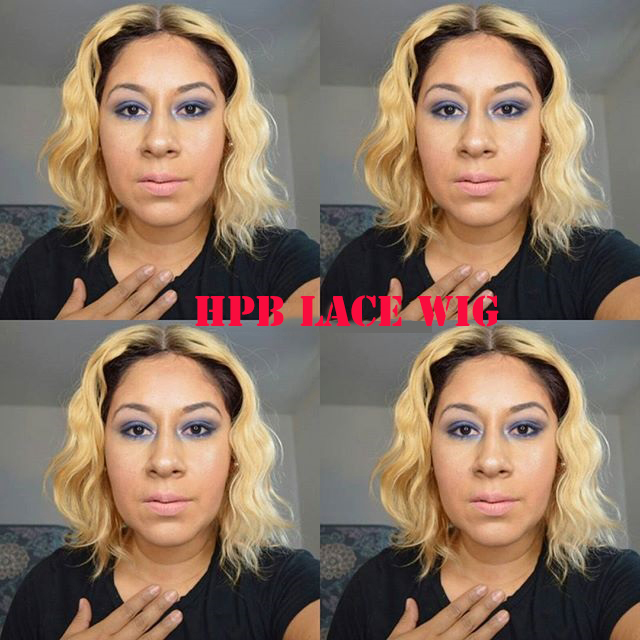 Beyonce New Bob Inspired Ombre Blonde Color Lace Front Wigs