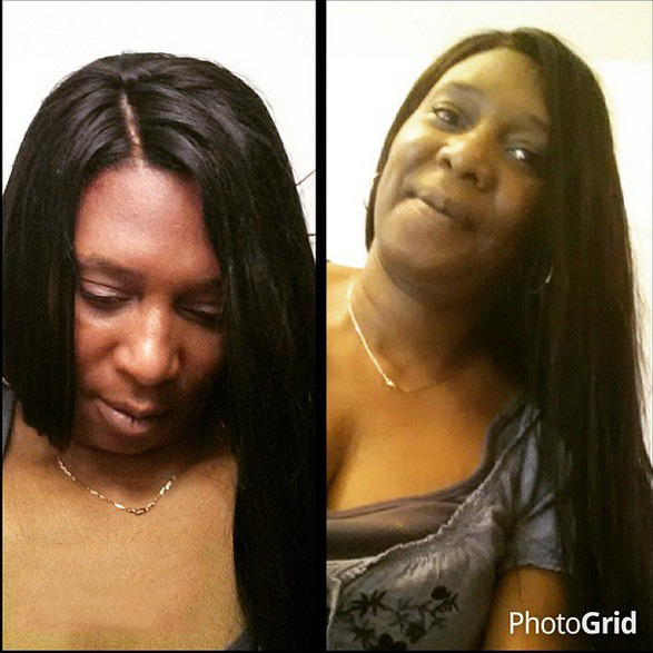 Indian Remy Hair Light Yaki Silk Top Full Lace Wigs