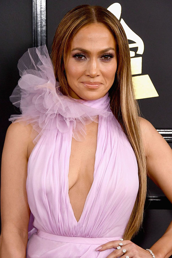 Jennifer Lopez's glow and long sleek locks