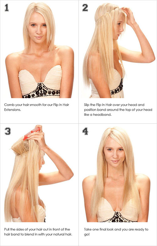How to Make Secret Hair Extension