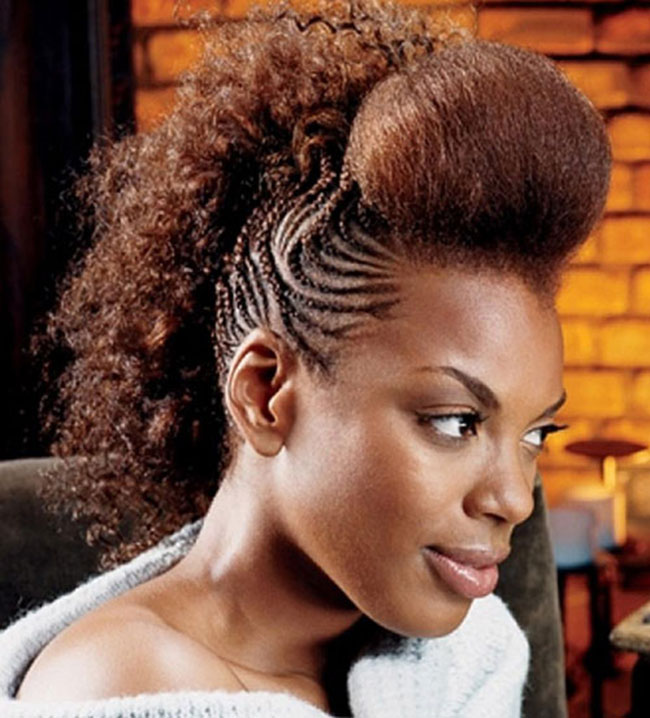 Mohawk Hairstyle for Women