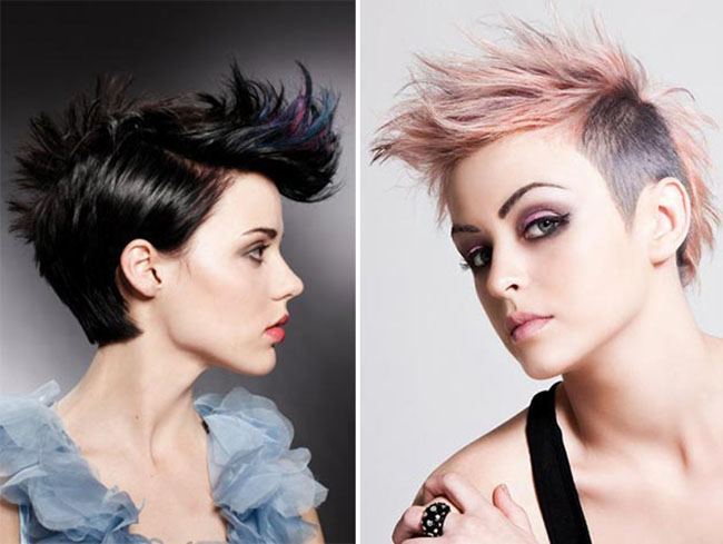 Faux Hawk Hairstyles