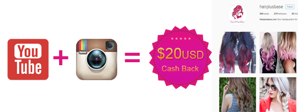 Get cashback and featured