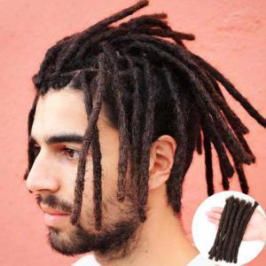 Natural Handmade Dreadlocks Extensions For Men and Women 100% Human Hair African Dreadlocks