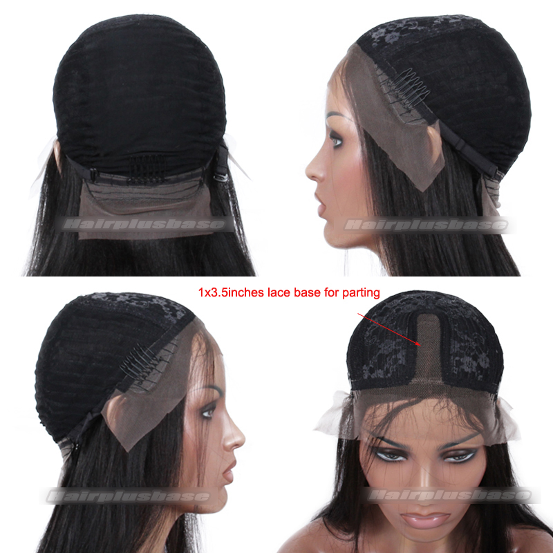 lace part wig cap construction