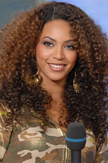 Ombra Color Jerry Curl Gluless Human Hair Wigs JZ-006