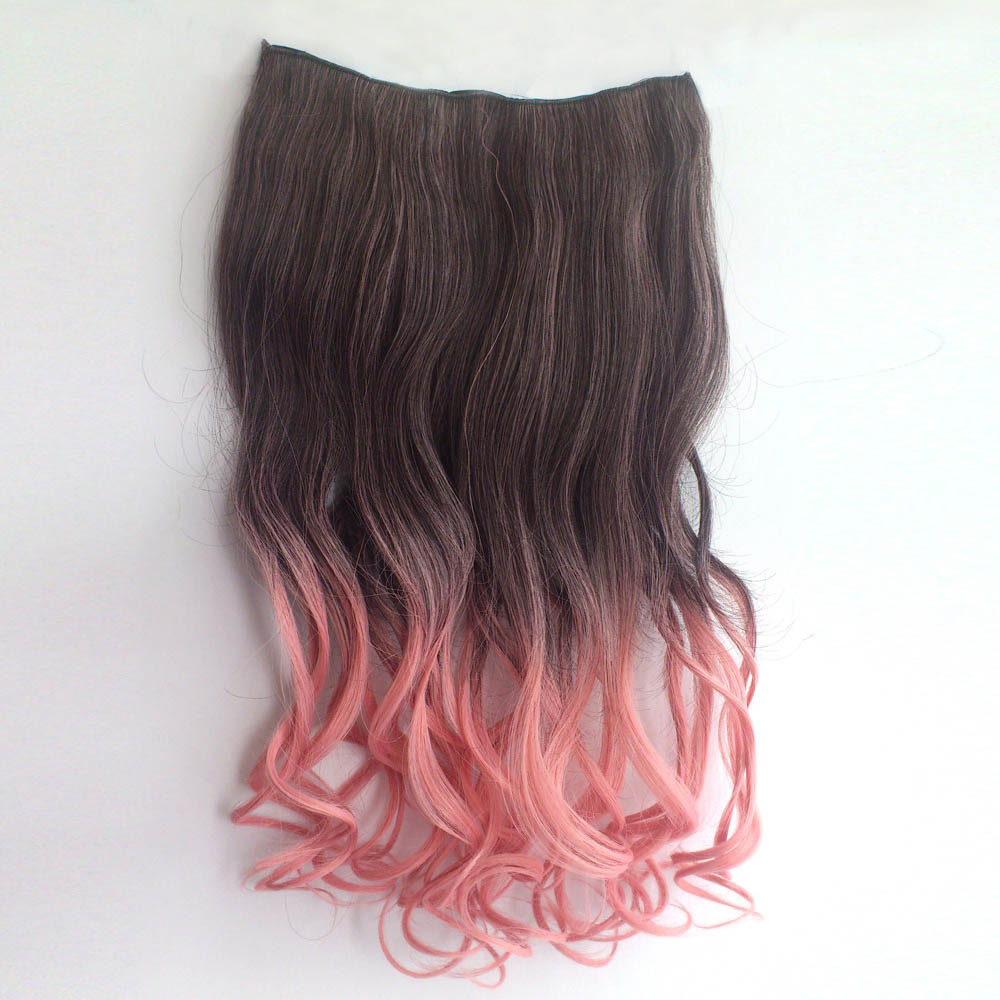 Dark Brown And Pink Ombre Hair Brown Hairs