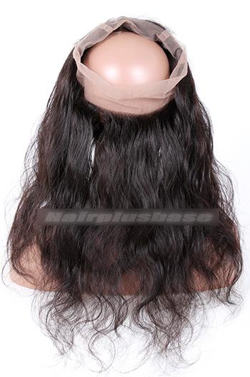 Body Wave Peruvian Virgin Hair 360°Circular Lace Frontal