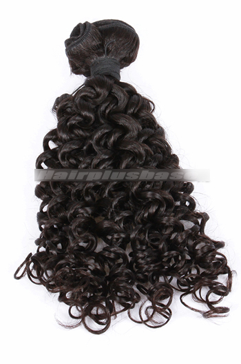 10-30 Inch Candy Curl Natural Color 7A Virgin Hair Wefts