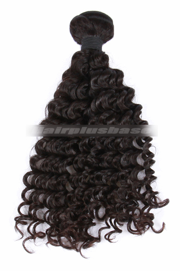10-30 Inch Deep Wave Natural Color 7A Virgin Hair Wefts