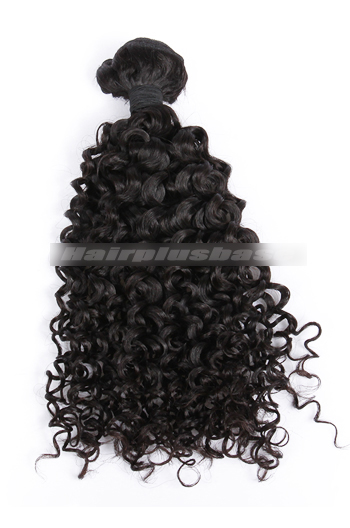 10-30 Inch Water Wave Natural Color Peruvian Virgin Hair Wefts