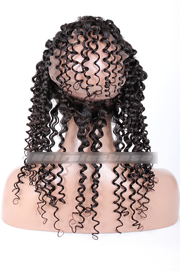 Candy Curl Peruvian Virgin Hair 360°Circular Lace Frontal