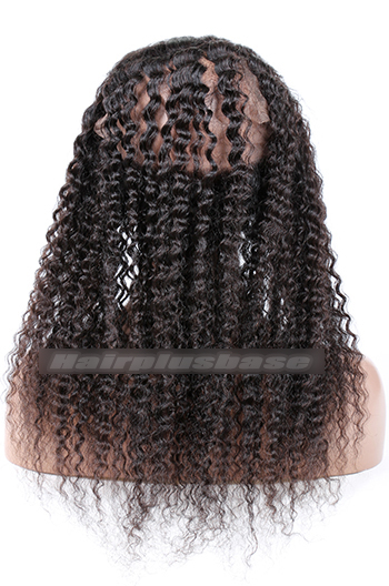 Deep Wave Peruvian Virgin Hair 360°Circular Lace Frontal