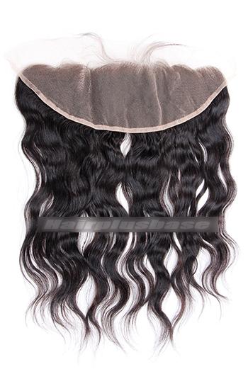 Natural Wave Peruvian Virgin Hair Lace Frontal