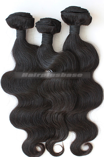 10-30 Inch 7A Virgin Hair Natural Color Body Wave Hair Extension 3 Bundles Deal
