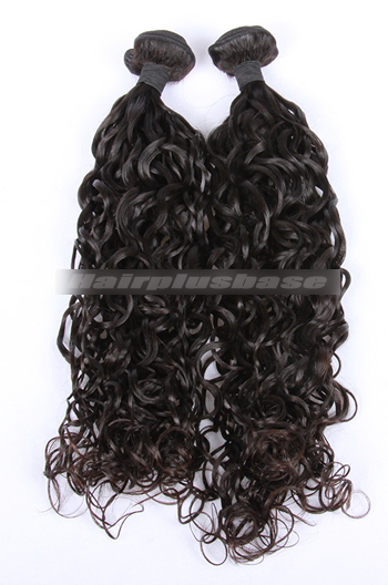10-30 Inch Loose Curl Natural Color 7A Virgin Hair Weave 2 Bundles Hair Deal