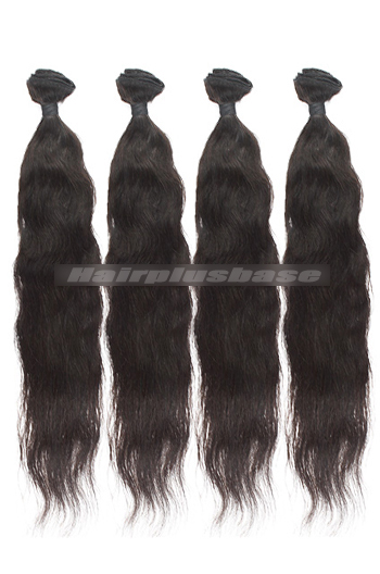 10-30 Inch 7A Virgin Hair Natural Straight Hair Extension 4 Bundles Deal