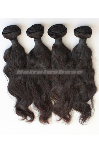 10-30 Inch 7A Virgin Hair Natural Wave Hair Extension 4 Bundles Deal