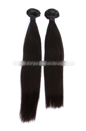 10-30 Inch Silky Straight 7A Virgin Hair Weave 2 Bundles Deal