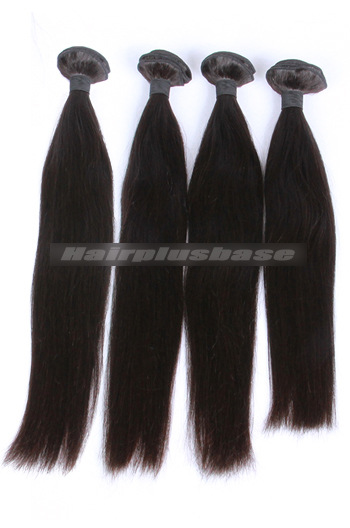 10-30 Inch Silky Straight Natural Color 7A Virgin Hair Weaves 4 Bundles Deal