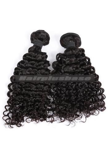 10-30 Inch Water Wave Natural Color Peruvian Virgin Hair Weave 2 Bundles Hair Deal