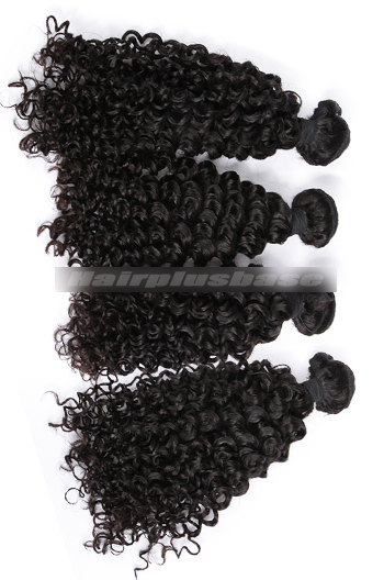 10-30 Inch 7A Virgin Hair Water Wave Hair Extension 4 Bundles Deal