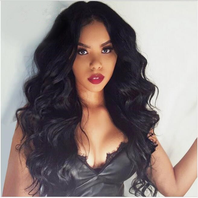 Pre Plucked Body Wave 360 Lace Wigs, 180% Density Brazilian Virgin Hair
