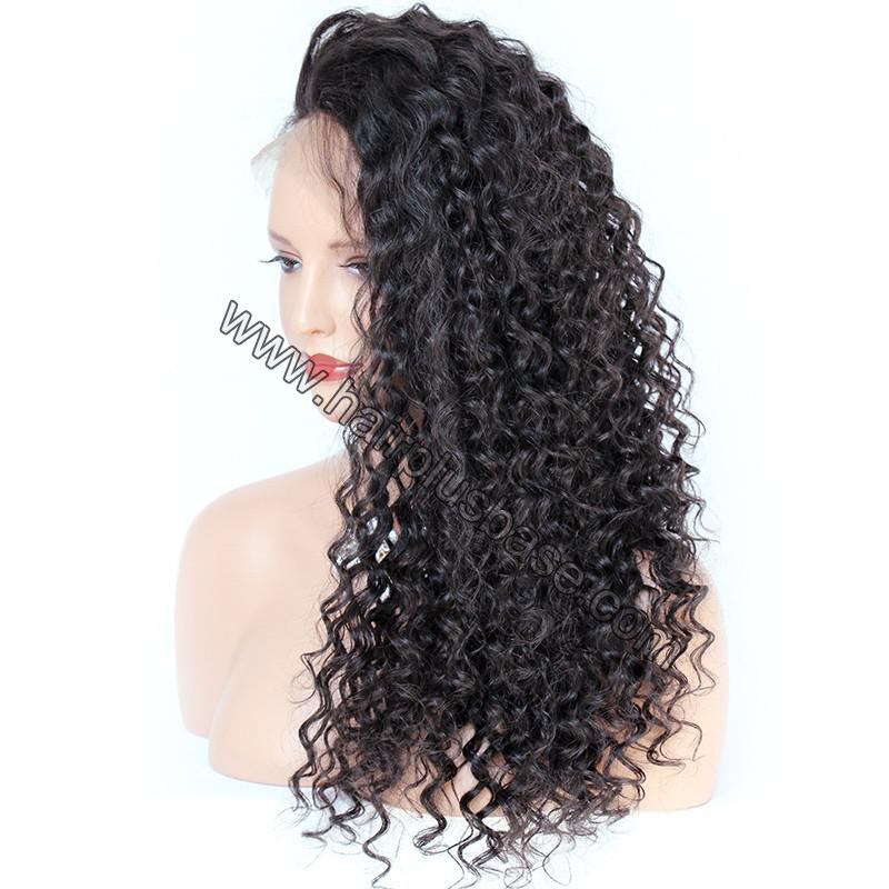 Pre Plucked Hairline 360 Lace Wigs Loose Curl,150% Density, Indian Remy Hair 2
