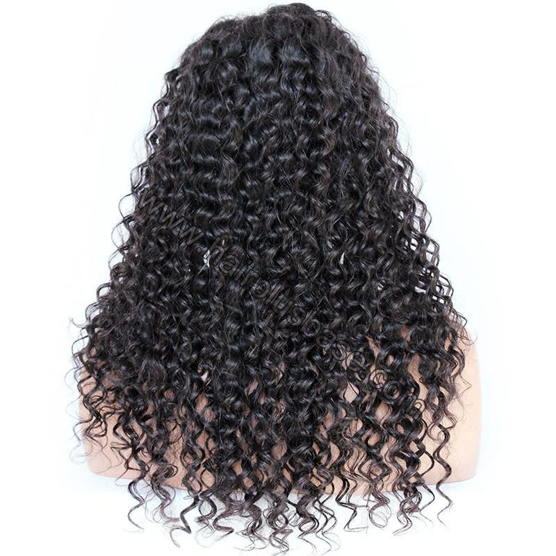 Pre Plucked Hairline 360 Lace Wigs Loose Curl,150% Density, Indian Remy Hair 6
