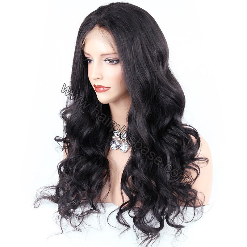 Pre Plucked Super Wavy 360 Lace Wigs 150% Density, Indian Remy Hair 2