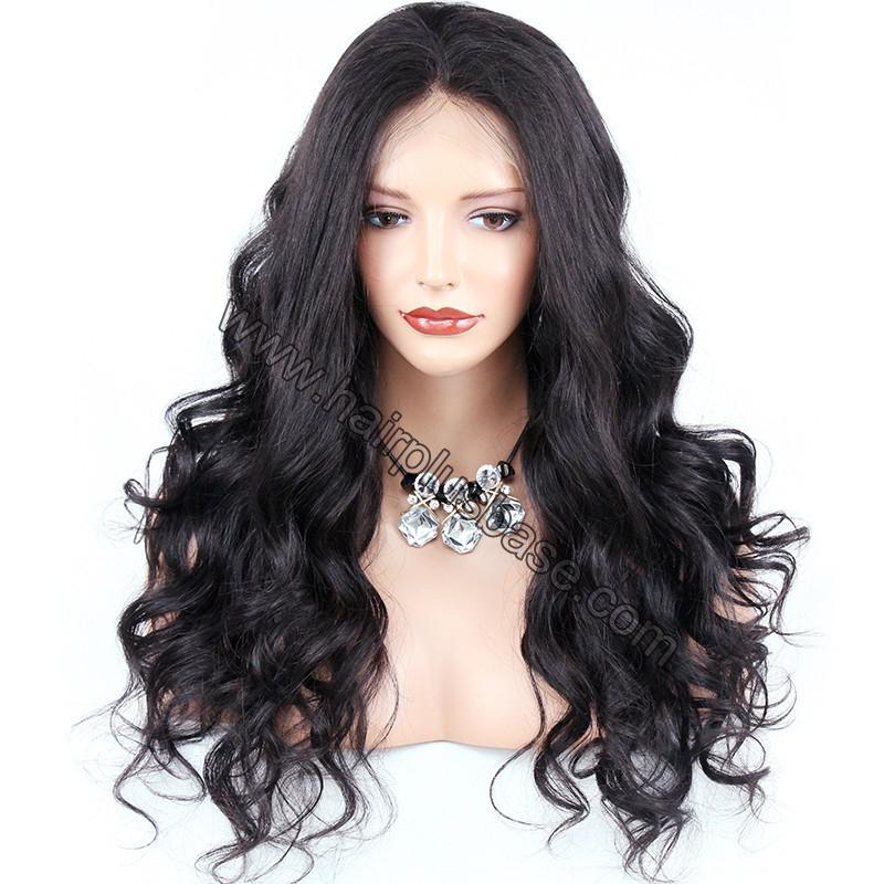 Pre Plucked Super Wavy 360 Lace Wigs 150% Density, Indian Remy Hair 3