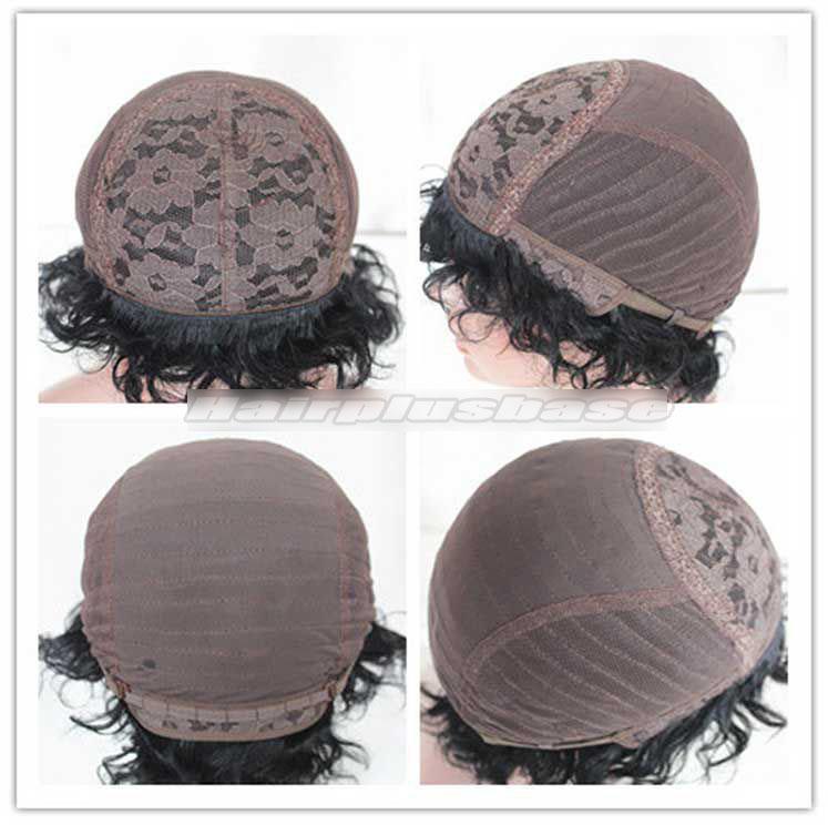 Glueless made made wig cap