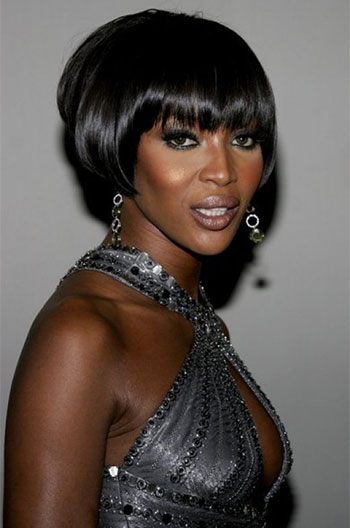 Short Human Hair Wigs With Bangs For Black Women Glueless Wigs PWHH-13-0326
