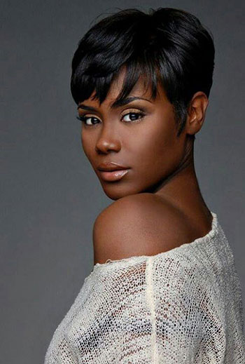 Short Bob Haircut Human Hair Wigs For Black Women Glueless Wigs