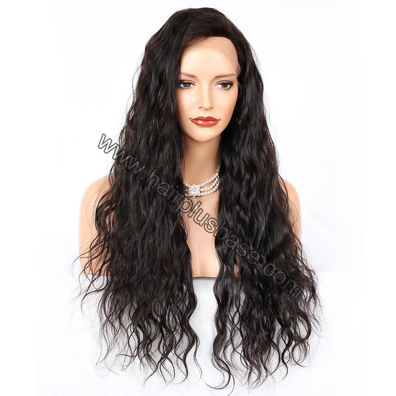 Silk Base 4*4 Lace Front Wigs Indian Human Hair Loose Wave 2