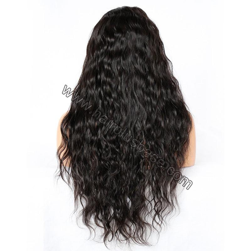 Silk Base 4*4 Lace Front Wigs Indian Human Hair Loose Wave 6